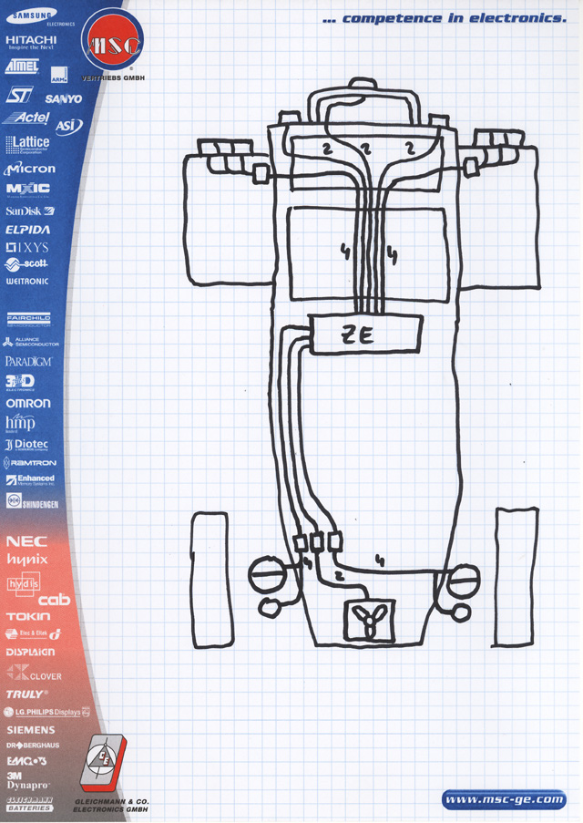 Lotus 7: Planung der Elektrik, Teil 1